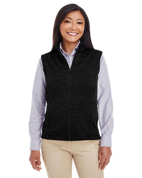 Devon & Jones DG797W Ladies Newbury Mélange Fleece Vest