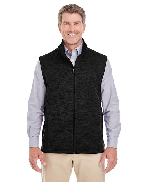 Devon & Jones DG797 Mens Newbury Mélange Fleece Vest