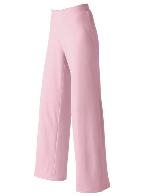 Devon & Jones Pink DP410W Velour Lounge Pants