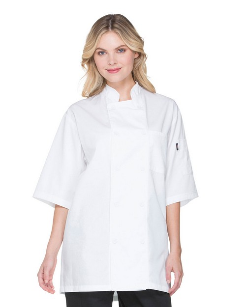 Dickies Chef DC412 Unisex Short Sleeve Chef Coat