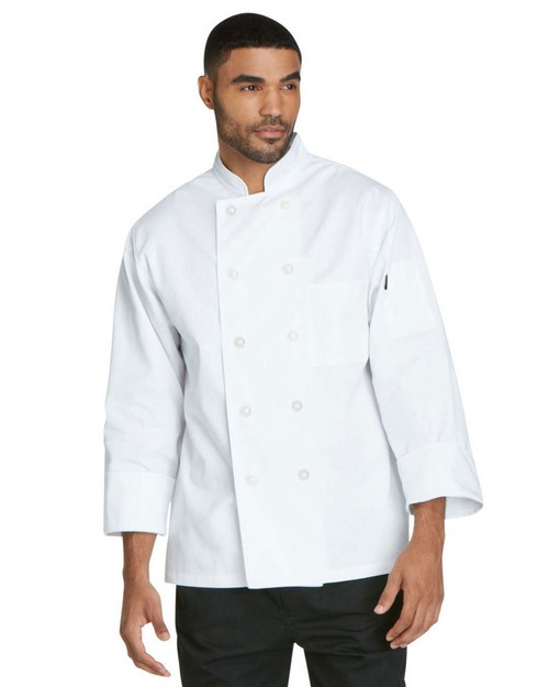 Dickies Chef DC47 Unisex Classic 10 Button Chef Coat