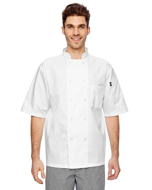 Dickies DC105 Short Sleeve Cool Breeze Chef Coat