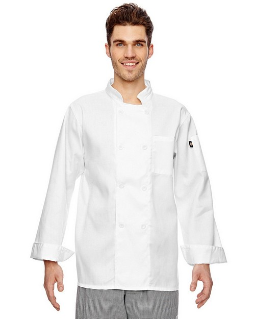 Dickies DC118 7 oz. Eight Button Chef Coat