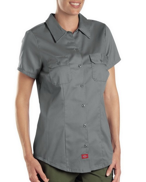 Dickies FS574 Women Short Sleeve Work Shirt