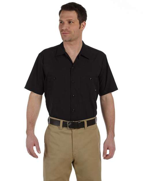 Dickies LS535 Men's Industrial Short Sleeve Work Shirt