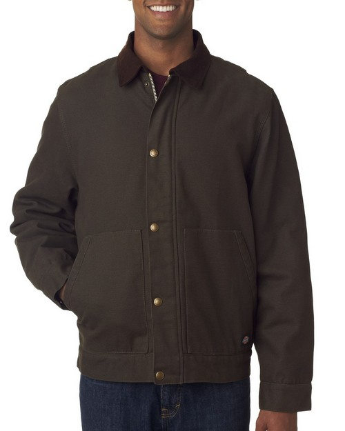 Dickies TJ548 Adult Sanded Duck Sherpa Lined Jacket