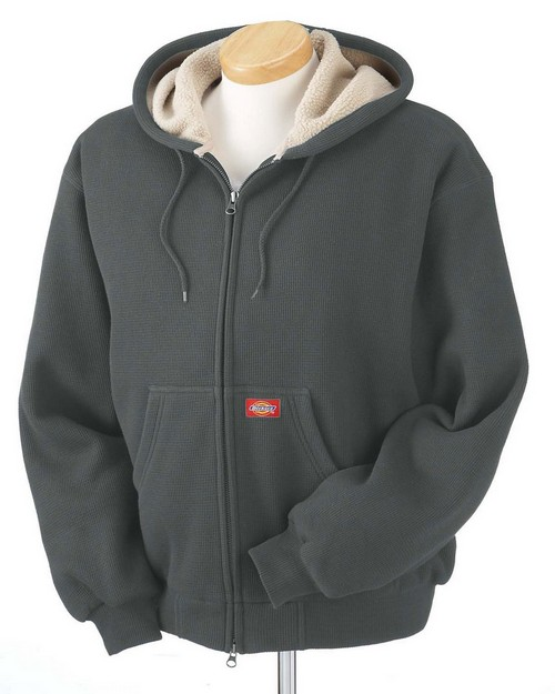 Dickies TW385 Bonded Waffle Knit Hooded Jacket