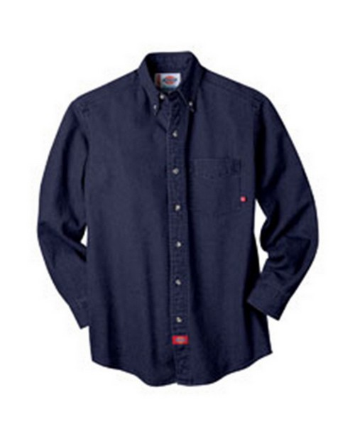 Dickies WL300 8 oz. Denim Long Sleeve Shirt