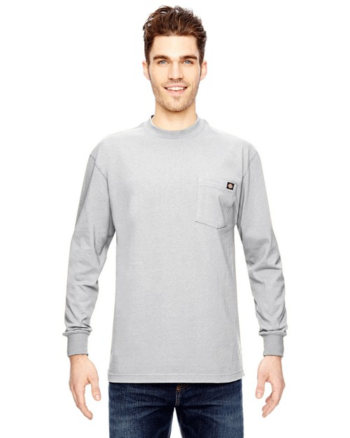 Dickies WL450T 6.75 oz. Heavyweight Long Sleeve Tall Work T-Shirt