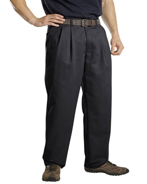 Dickies WP114 Relaxed Fit Cotton Pleated Front Pant