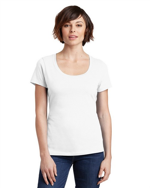 District Made DM106L Ladies Perfect Weight Scoop Tee
