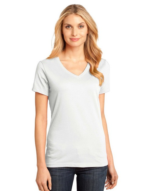 District DM1170L Ladies Perfect V-Neck Tee