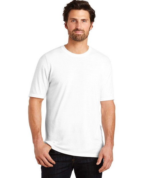 District Made DM130 Mens Perfect Tri Crew Tee