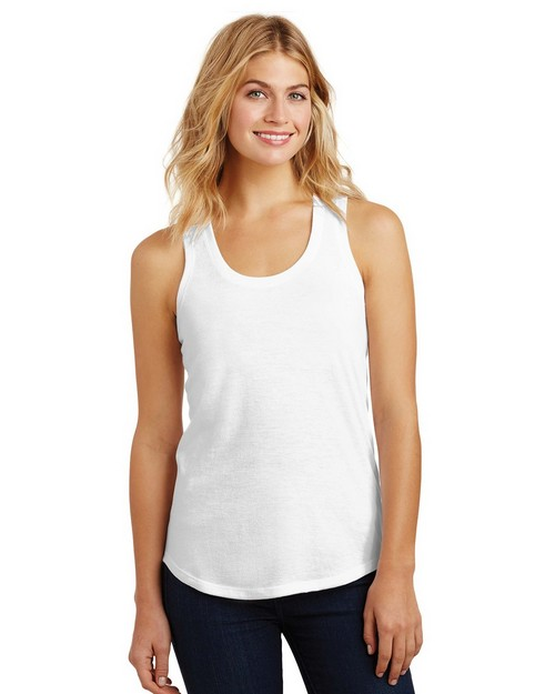 District DM138L Ladies Perfect Tri Racerback Tank