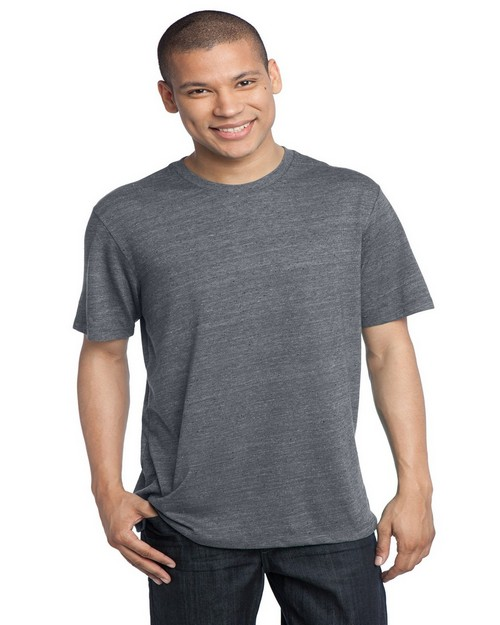 District Made DM370 Mens Textured Crew Tee