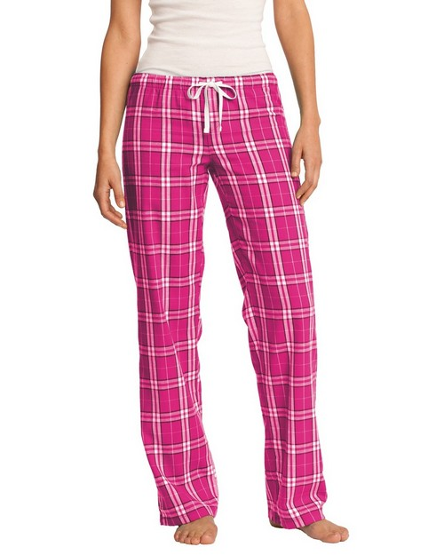 District DT2800 Juniors Flannel Plaid Pant
