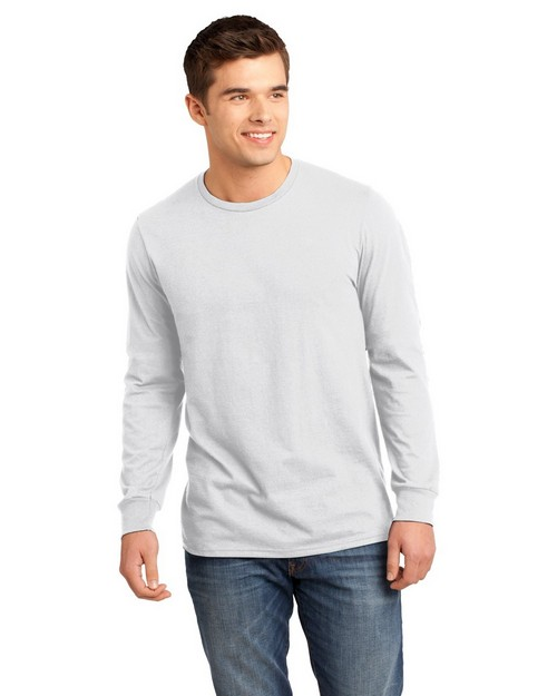 District DT5200 Young Mens The Concert Long Sleeve Tee