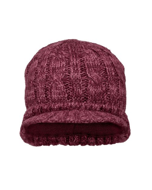 District DT628 Cabled Brimmed Hat
