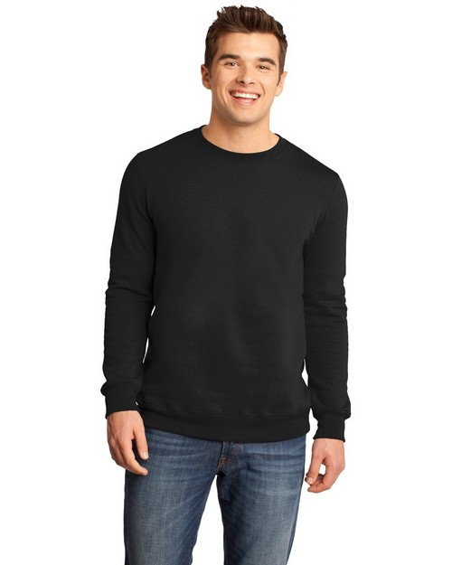 District DT820 Young Mens The Concert Fleece Crew