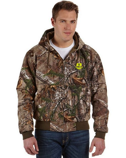 Dri Duck Logo Embroidered Realtree Xtra Cheyene Jacket - For Men