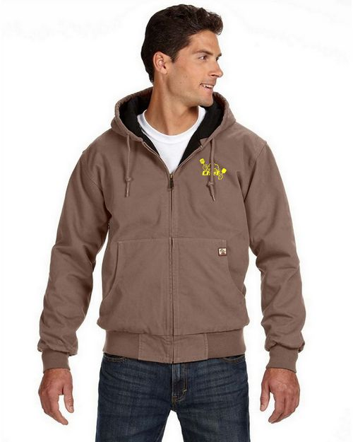 Dri Duck Logo Embroidered Tall Cheyene Jacket - For Men