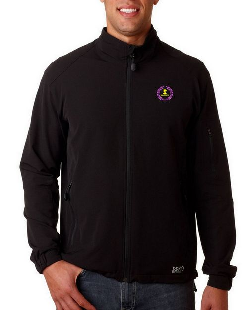 Dri Duck Logo Embroidered Baseline Jacket - For Men