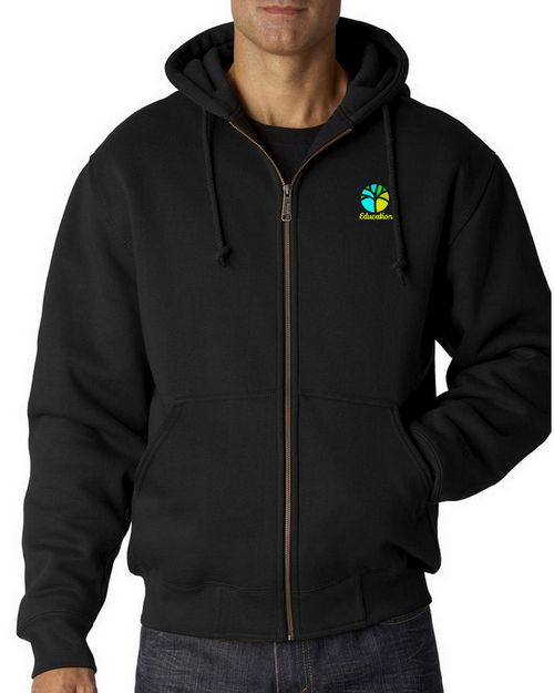 Dri Duck Logo Embroidered CrossFire Fleece Jacket - For Men