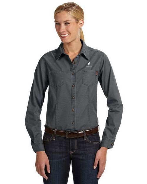 Dri Duck 8284 Ladies Mortar Workshirt