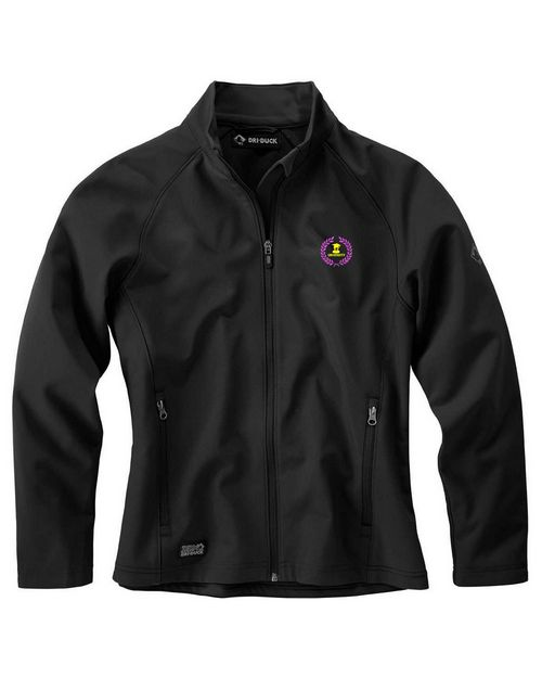 Dri Duck Logo Embroidered Softshell Contour Jacket - For Women
