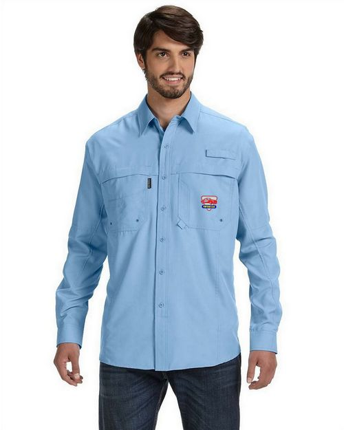Dri Duck D4405 Adult Catch Long-Sleeve Fishing Shirt