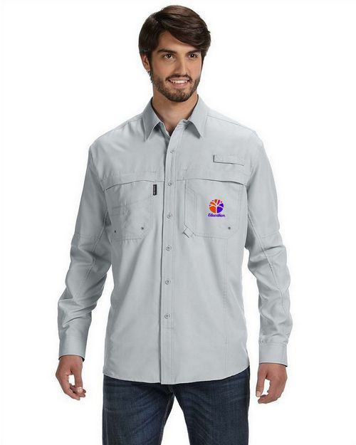 Dri Duck Logo Embroidered Adult Catch Fishing Shirt - For Men