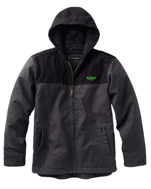 Dri Duck DD5058 Mens Canvas Hooded Terrain Jacket