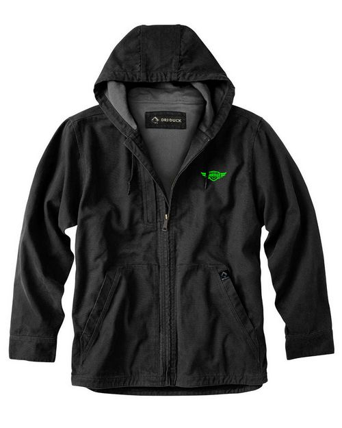 Dri Duck DD5090T Mens Thermal Lining Hooded Tall Laredo Jacket
