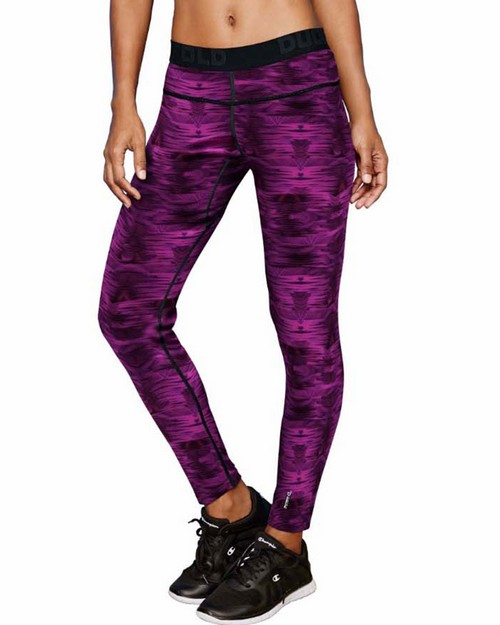 Duofold KCB4P Brushed Back Womens Pants (Prints)