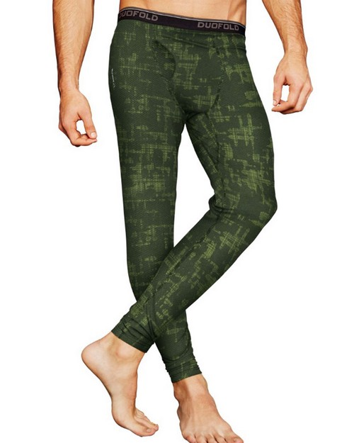 Duofold KDC2P THERMatrix Mens Printed Pants