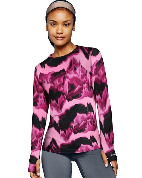 Duofold KDC3P THERMatrix Womens Printed Crew