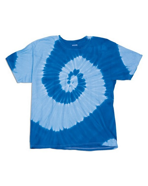 Dyenomite 20021 Tone On Tone Spiral T-Shirt