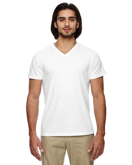 Econscious EC1052 Mens Organic Cotton Short Sleeve V-Neck T-Shirt