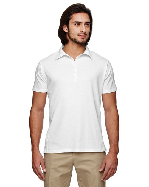 Econscious EC2505 Mens Organic Cotton Jersey Short-Sleeve Polo