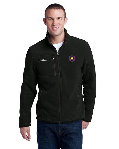 Eddie Bauer Logo Embroidered Full Zip Fleece Jacket - For Men