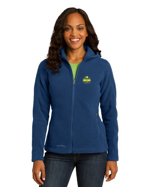 Eddie Bauer EB206 Ladies Hooded Fleece Jacket