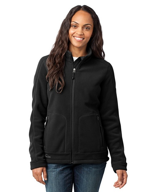 Eddie Bauer EB231 Ladies Wind Resistant Full-Zip Fleece Jacket