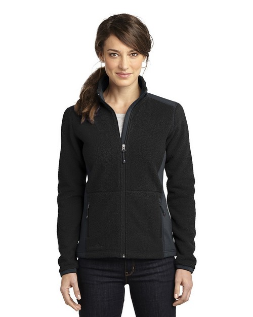 Eddie Bauer EB233 Ladies Full Zip Sherpa Fleece Jacket
