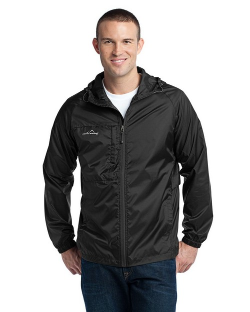 Eddie Bauer Logo Embroidered Packable Wind Jacket - For Men