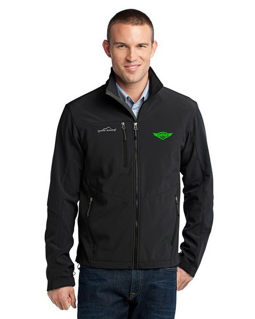 Logo Embroidered Eddie Bauer Custom Logo Embroidred Soft Shell Jacket - For Men