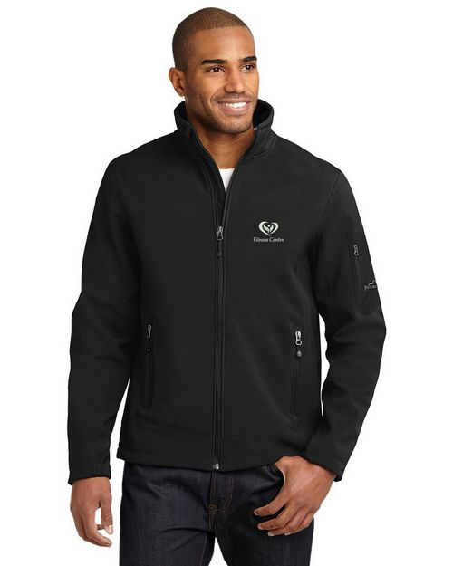 Eddie Bauer Logo Embroidered Soft Shell Jacket - For Men