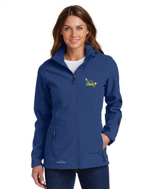 Logo Embroidered Eddie Bauer Logo Embroidered Hooded Parka - For Women