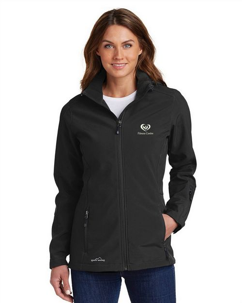Eddie Bauer EB537 Ladies Hooded Soft Shell Parka