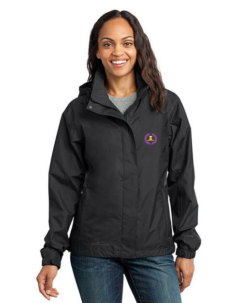 Eddie Bauer Custom Logo Embroidered Rain Jacket - For Women