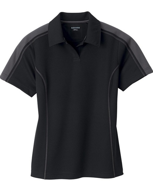 Extreme 75052 Ladies Eperformance Pique Color Block Polo
